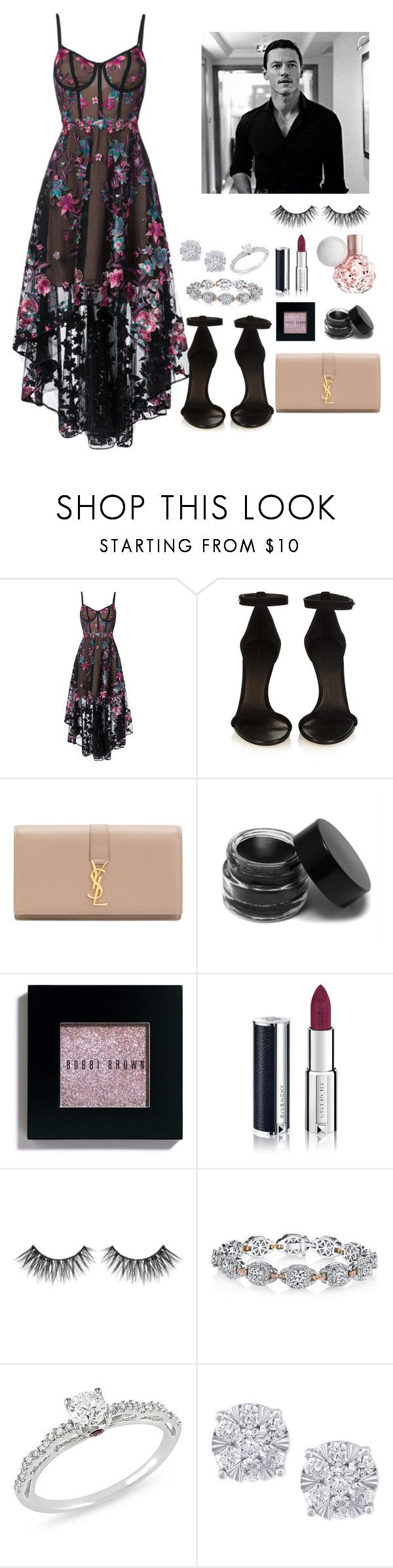 """""""You're my forever boy"""" by arianabut1993 on Polyvore featuring moda, Notte by Marchesa, Isabel Marant, Yves Saint Laurent, Bobbi Brown Cosmetics, Givenchy, Harry Kotlar, Ice y Effy Jewelry"""