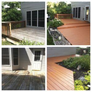 Behr Premium paint - renew your deck! - *knowgirls