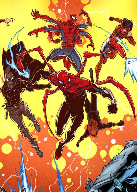 SUPERIOR SPIDER-MAN Teams Up with Multiversal Spideys in #33 First Look | Newsarama.com