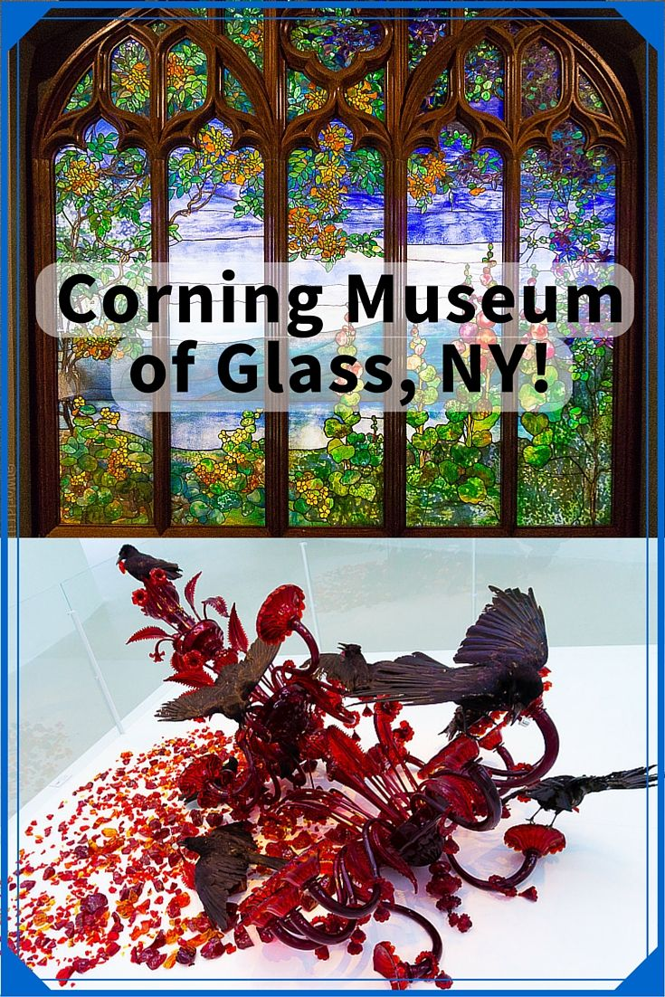 New York State's Finger Lakes region boasts one of the best museums in the world: The Corning Museum of Glass in Corning, NY! See these astounding photos of the beautiful glass art there.