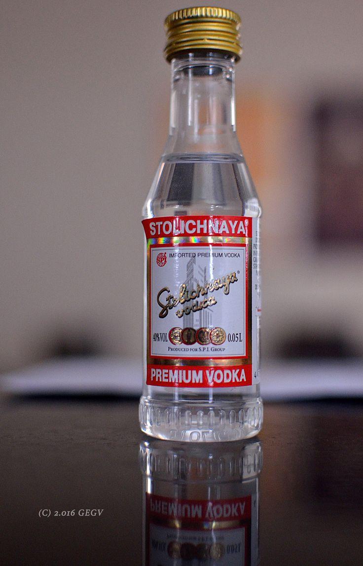 Vodka Stolichnaya. Itapira, SP, Brasil.