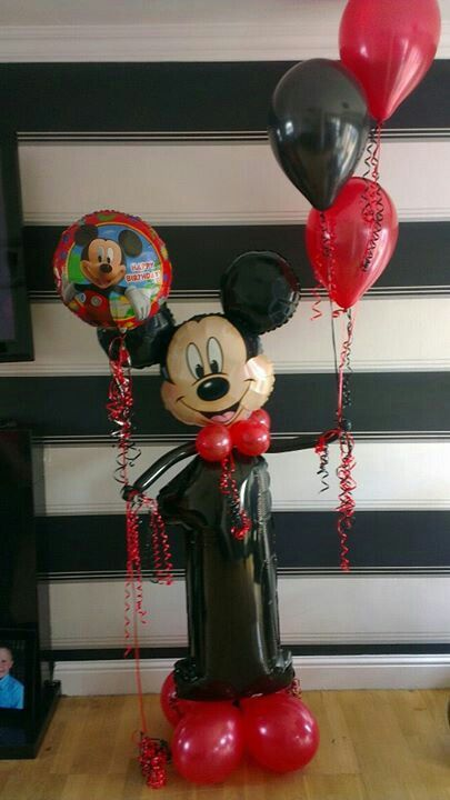 Jumbo number Mickey Mouse Balloon xx