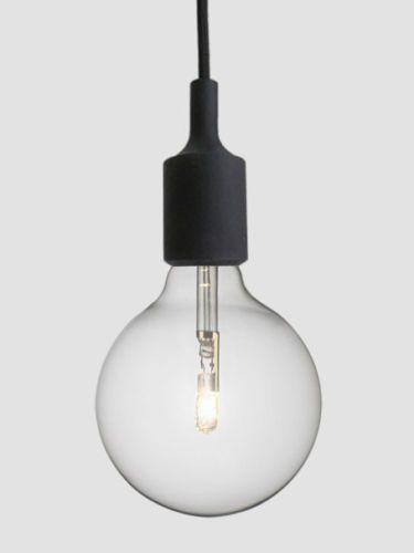 Scandinavian-Modern-Designer-Silicone-Pendant-Light-  G125 halogen Bulb