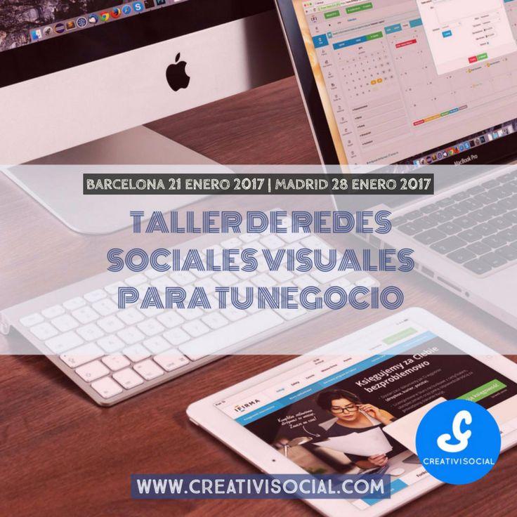 ¿Quieres tener éxito en las redes sociales? Apúntate a este taller y aprenderás todo lo que hay que saber sobre las redes sociales visuales y las nuevas tendencias para el 2017.