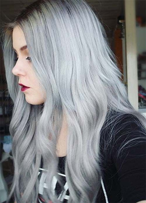 85 Silver Hair Color Ideas and Tips for Dyeing ...