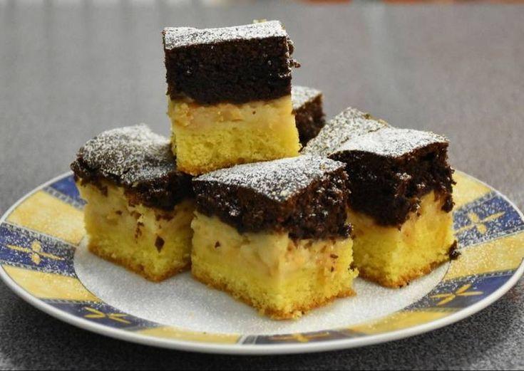Pudingos, almás sütemény -- cookpad.com