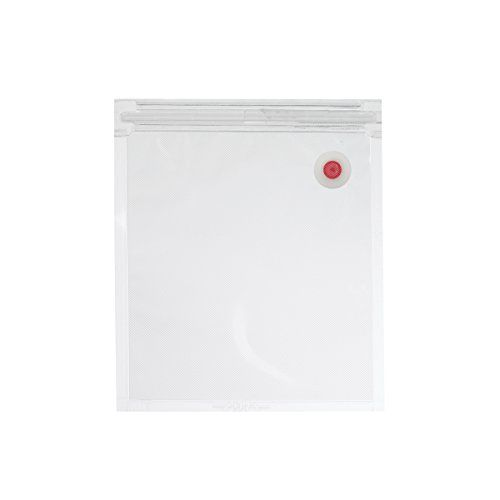 Waring Commercial 50 Count Vacuum seal bag with Valve, 1-Quart, Clear #DIY
