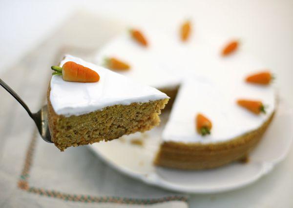 Чадейка - Пирог для ослика Мафина или Швейцарский морковный торт или Rübli Kuchen