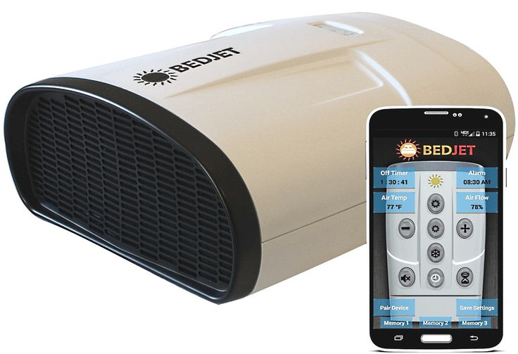 BedJet V2 Climate Comfort System with Biorhythm Sleep Technology - Any Size Bed, Single Zone