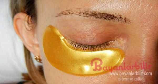 Göz altı torbaları için sarı karbonat maskesi nasıl yapılır Göz altı t…
