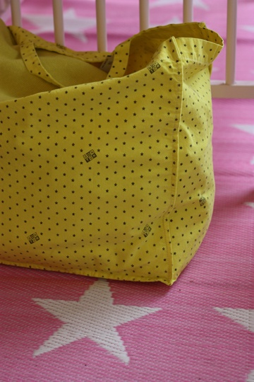Yellow Bonton Bag