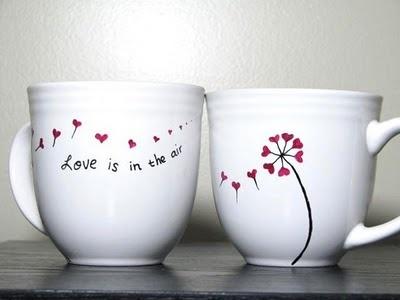 bloem met hartje