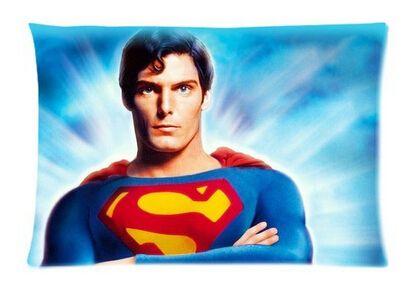 Подушка чехол супермен пользовательские дома современный прохладный спальня установка ретро бросок s обложки 40 x 60 см бесплатная доставка ко / 363574