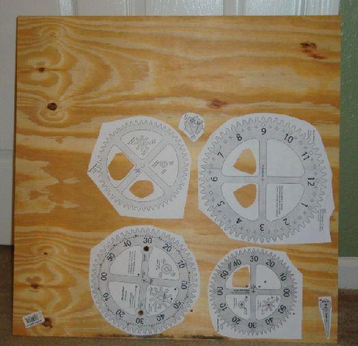 wooden gear clock plans free pdf
