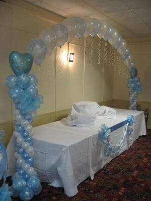 25 best ideas about personalised balloons on pinterest for Balloon decoration ideas for christening