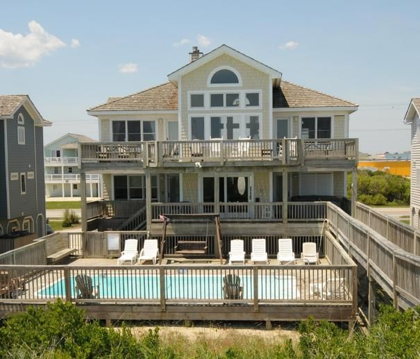 Milepost 14.5 - oceanfront **Close to Us** 8 Bedrooms  available Saturday 8/30-9/6 $4295  Nags Head Vacation Rental: Sea Renity 723   Pet Friendly Outer Banks Rentals