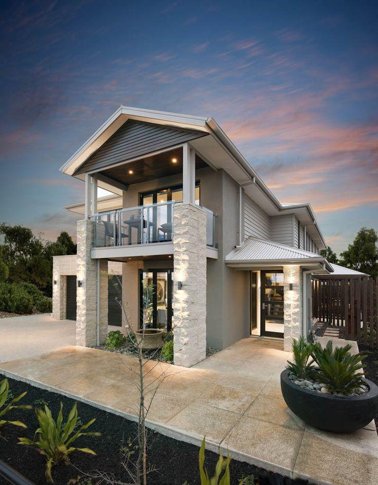 Facade metricon addison pot at bottom right idea for for House facade renovation ideas