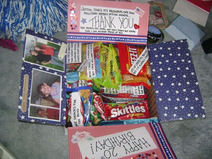 142 best soldier care packages images on pinterest soldier care pinner said care package for my soldier full of love and creativity negle Choice Image