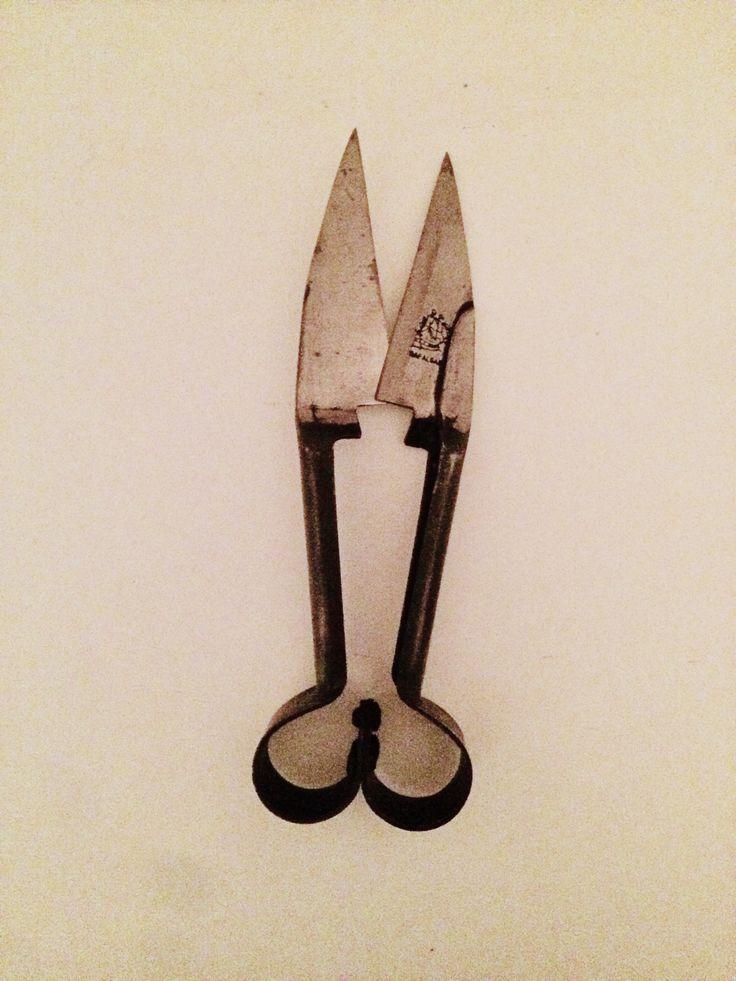 """My """"new"""" garden scissors 😊"""