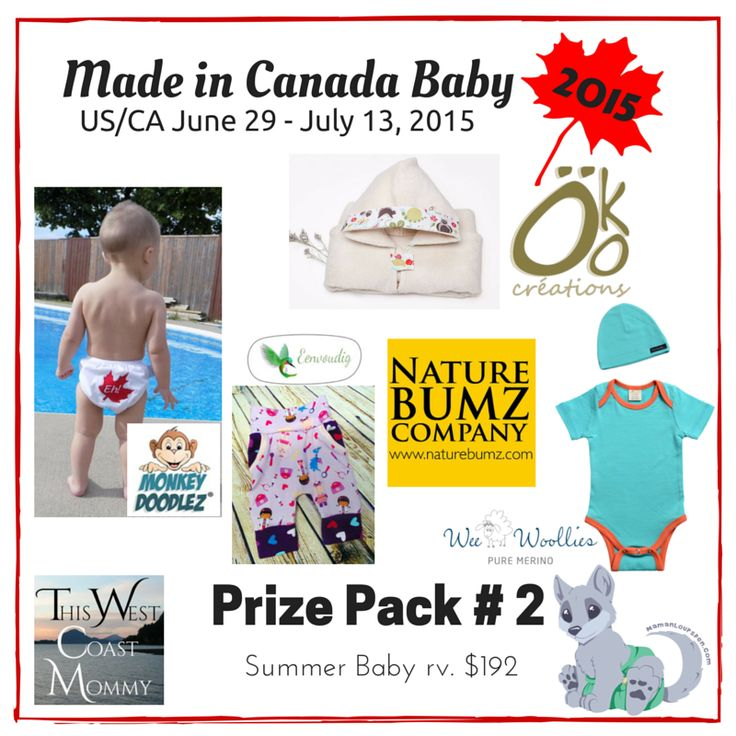 Made in Canada Baby Prize Pack 2