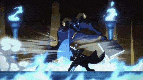kirito | SAO KIRITO VS BOSS [STARBURST STREAM Skill with Dual Blades]