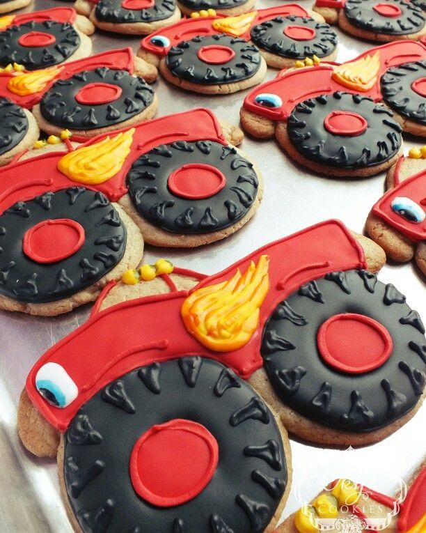 ... truck machine | cookies | Pinterest | Birthdays, Cookies and Treats