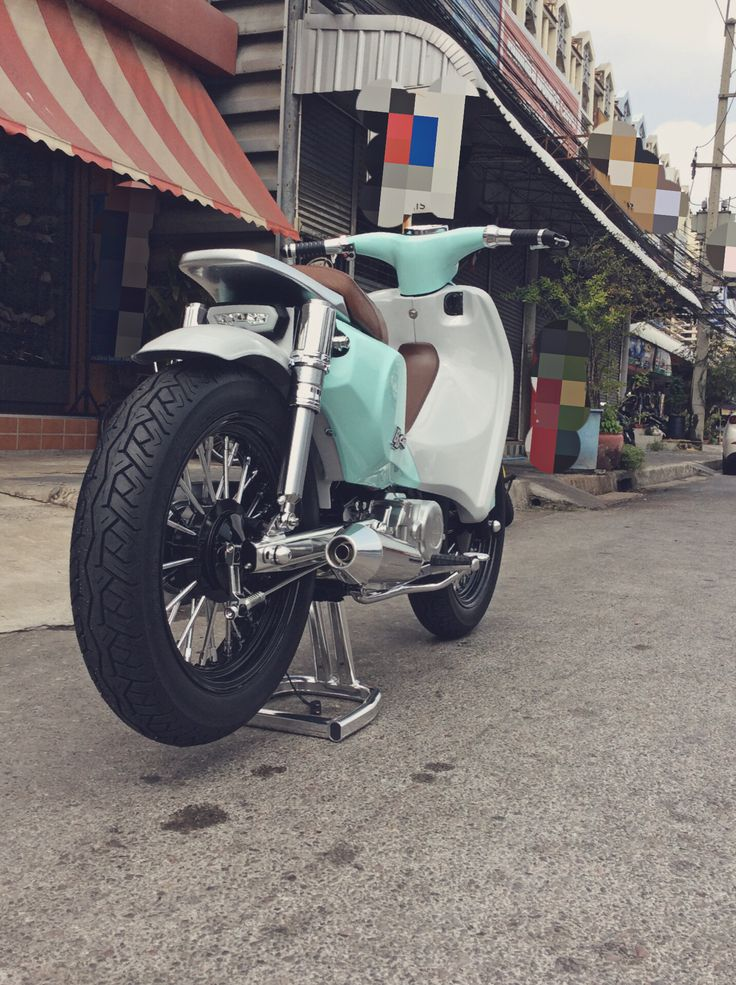 Honda Dream BB Cub Street Bobber