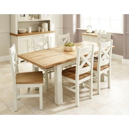 Salcombe Oak Small Extending Dining Table | Dunelm Mill