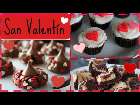 3 Postres para San Valentín! | PARTE 1 - YouTube