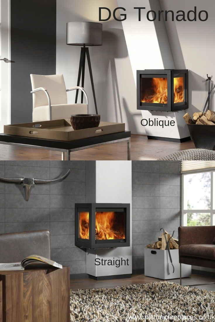 Dg Tonado Wood Burning Stove Some In Either Oblique Or Straight