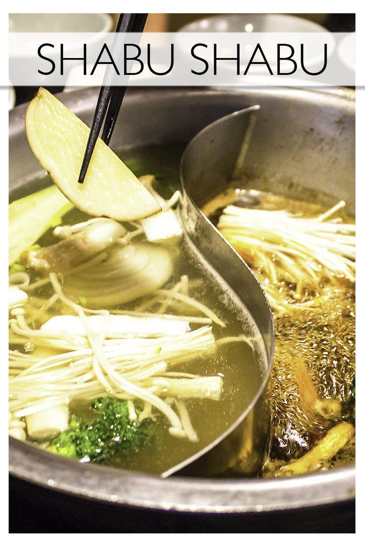 Shabu shabu!Everything you need to know about the Japanese food, shabu shabu.