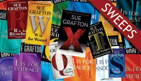 Sue Grafton's Complete Alphabet Series (To Date!) Sweepstakes — Books A-X by Crime HQ