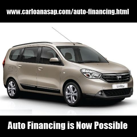 Auto Financing is Now Possible