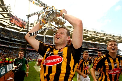 Darren Holden's second passion after music, the Kilkenny Cats Hurling team!