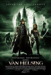 VAN HELSING.  Director: Stephen Sommers.  Year: 2004.  Cast: Hugh Jackman, Kate Beckinsale and Richard Roxburgh