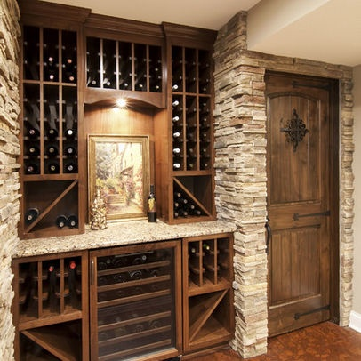 Wine room design decorating ideas pinterest - Small space wine racks design ...