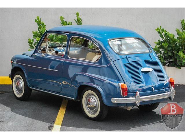 1962 Fiat 600 Fiat 600 Vecchie Auto Automobile