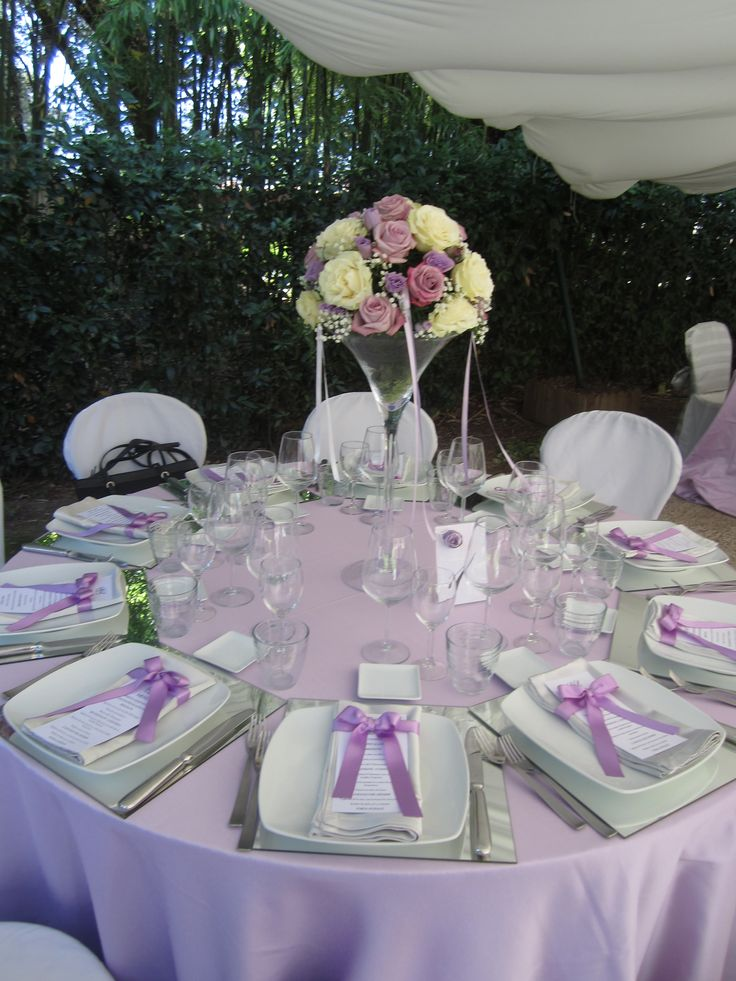 Table centerpiece and table card