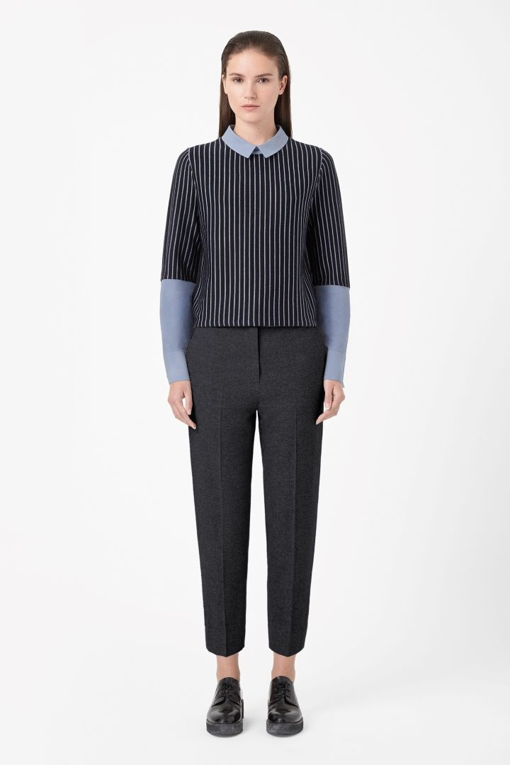 COS | Contrast stripe jumper