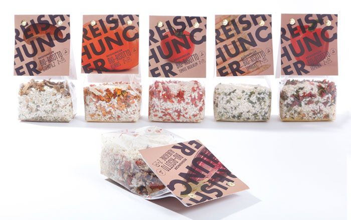New design from Reishunger the German rice brand which focuses on authentic and premium-quality rice from all over the world.