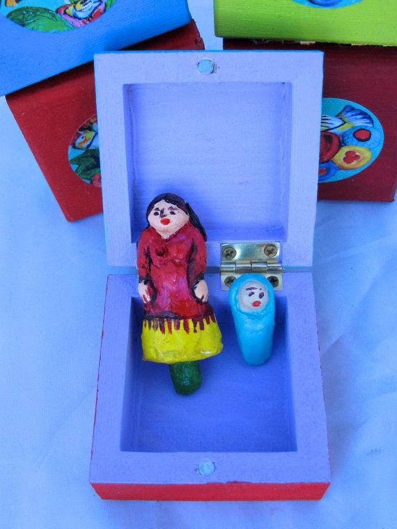 Miniature Good Luck Shrine for a New Baby by MrsMacBeth, £18.00