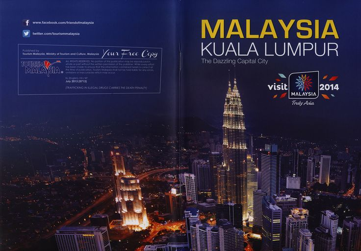 Malaysia Kuala Lumpur, The Dazzling Capital City 2013 tourism travel brochure | by worldtravellib World Travel library