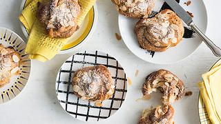 Swedish cinnamon and almond twisted buns (kanelbullar) recipe : SBS Food