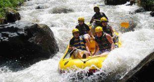 Bali White Water Rafting Telaga Waja River | Longest River Rafting in Bali