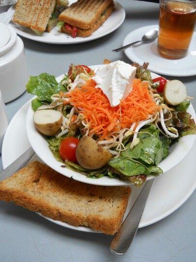 #Food #Salad #KalaGhodaCafe