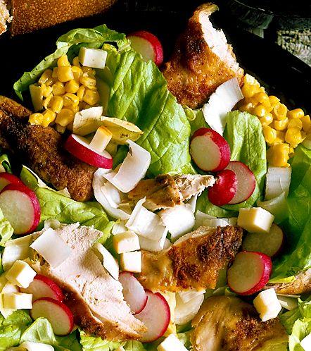 Kycklingsallad | Recept.nu