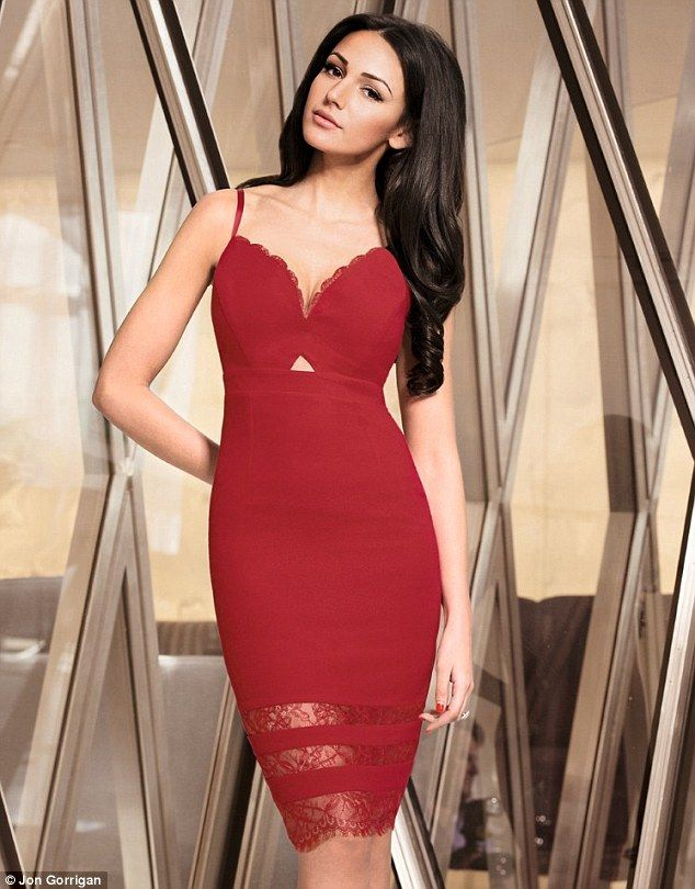 Red dress cocktail icon
