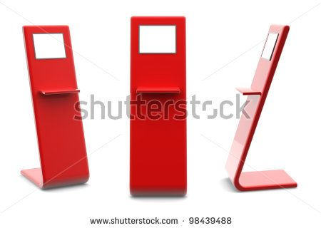 Information terminal; Point-of-sale (POS) or Point-of-information (POI) kiosk
