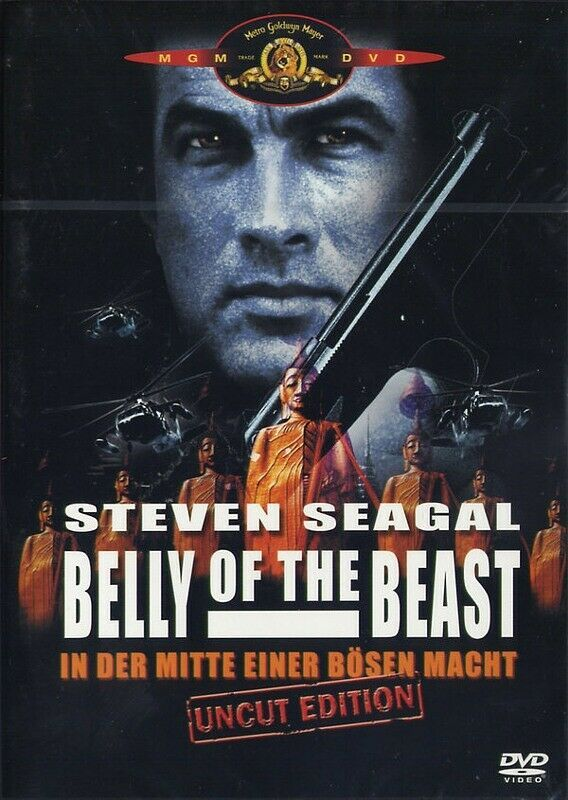 Belly Of The Beast Steven Seagal Russell Wong Brian Mann Steven Seagal Beast The Beast