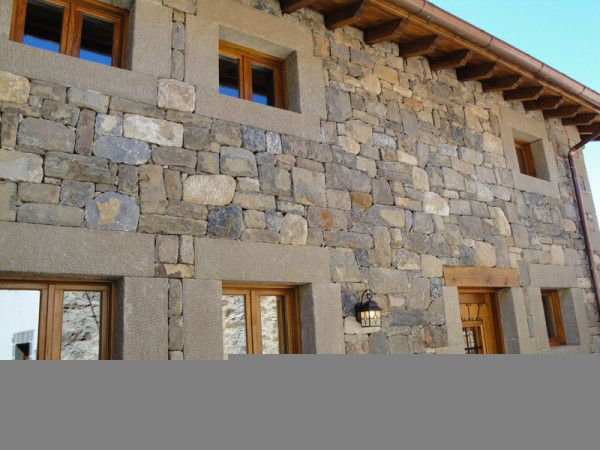 Fachadas de piedra aculco pinterest - Casas con fachadas de piedra ...